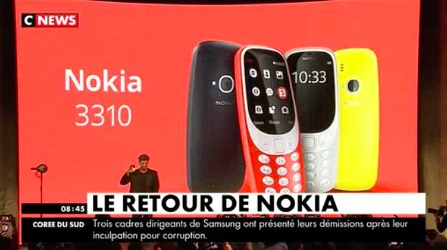 D couvrez les premi res images du nouveau nokia 3310 qui - Porter plainte pour fausse accusation ...