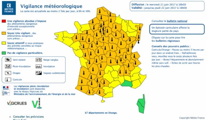 Orages et canicule : la Lorraine placée en vigilance orange