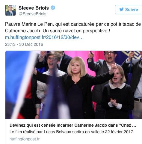 Bande-annonce Chez nous : Emilie Dequenne candidate extrémiste malgré elle