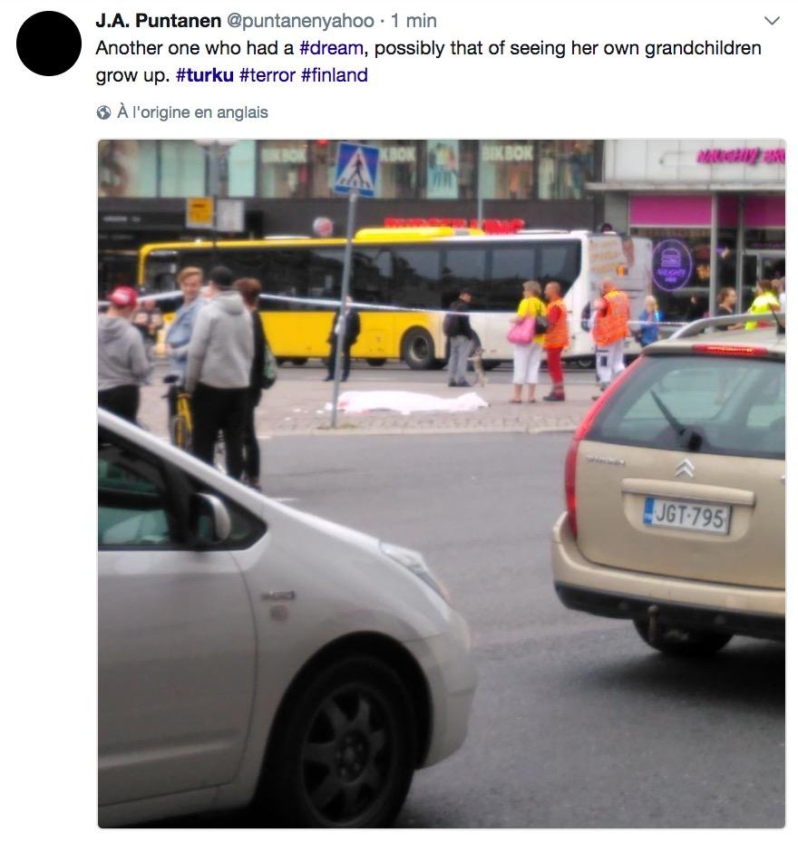 Un homme arrêté à Turku après avoir poignardé plusieurs personnes — Finlande