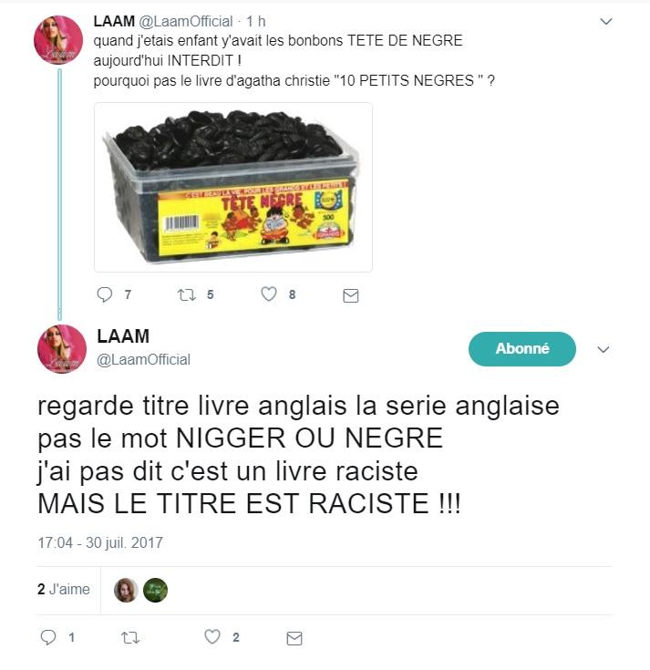 Lââm pousse un gros coup de gueule sur les réseaux sociaux !