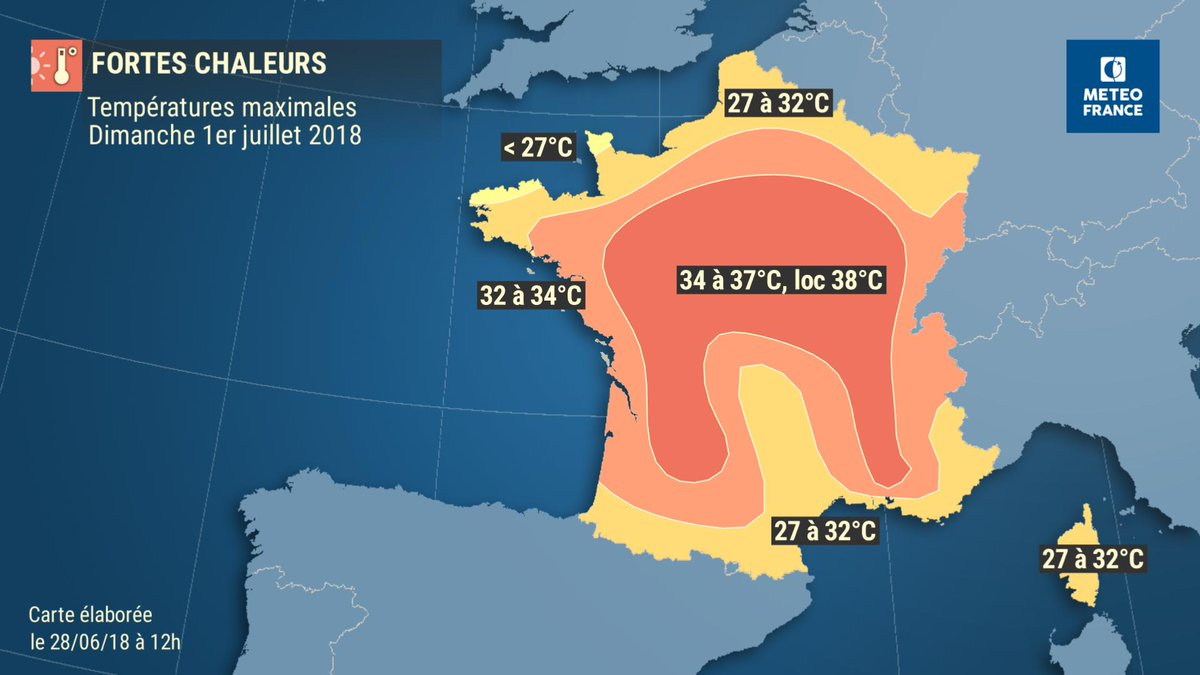 La Charente en vigilance orange — Orages
