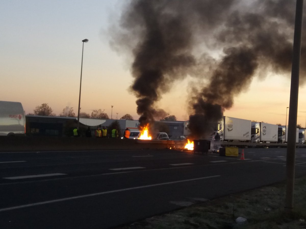 Un motard décède en marge de la mobilisation des Gilets jaunes — Drôme