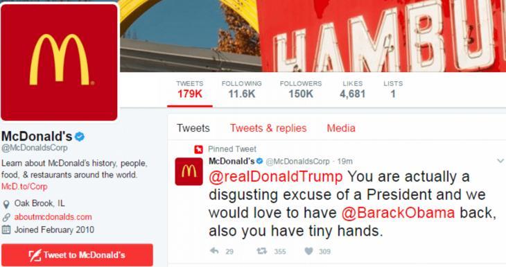 McDonald's commet une ÉNORME bourde sur Twitter