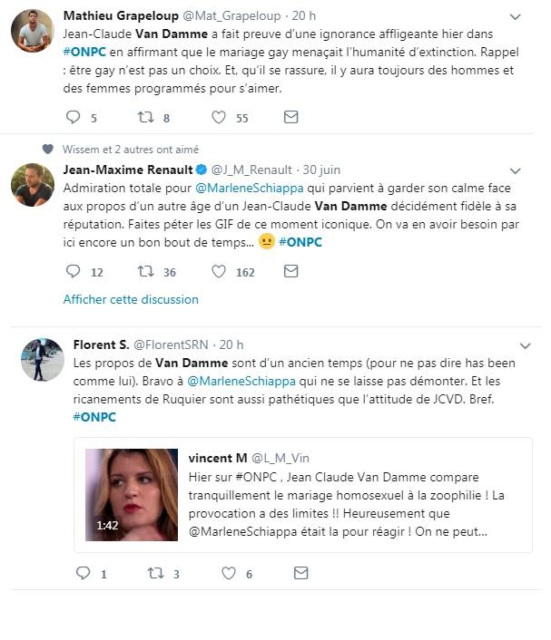 Colère Claude Jean Damme La Twitter De Sur Van Après Déclaration 0yNnPmv8wO