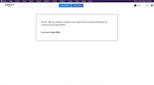 ma messagerie yahoo boite email