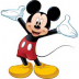Portrait de Mickey Mouse