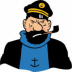 Portrait de Captain Haddock