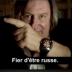 Portrait de Fière d'être Russe