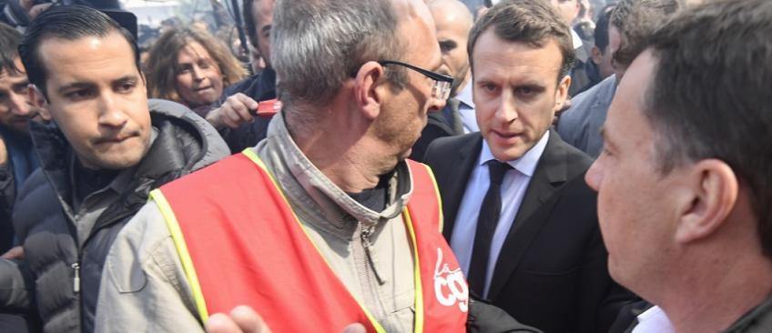Whirlpool: Voici le résumé en 1 minute de l'après-midi agitée d'Emmanuel Macron à Amiens face aux salariés