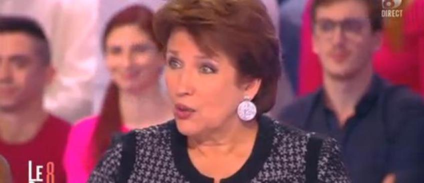 """Roselyne Bachelot traite François Hollande de """"salaud""""... puis s'excuse! - Regardez"""