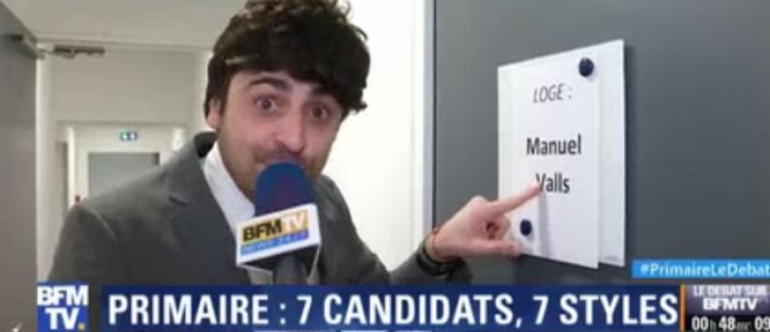 """La parodie hilarante de Camille Combal hier soir qui ironise sur les reporters de BFM TV: """"Ils en font toujours trop !"""" - Regardez"""