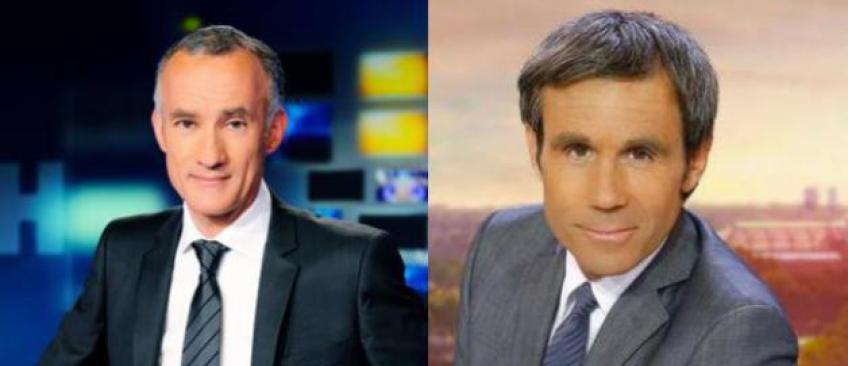 Coup de théâtre: Le CSA ne veut pas du duo Gilles Bouleau-David Pujadas pour le débat de l'entre-deux-tours du 3 mai