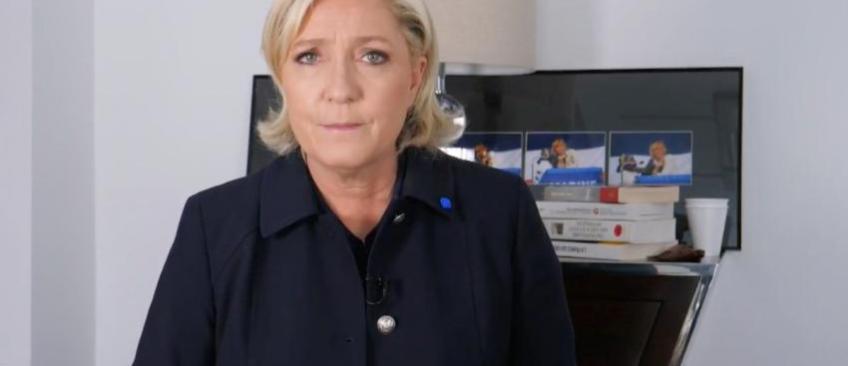 Regardez la vidéo de Marine Le Pen qui fait un énorme appel du pied aux électeurs de Jean-Luc Mélenchon