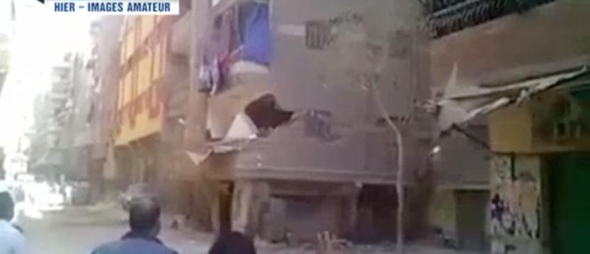 Pour illustrer le tremblement de terre au Népal, le 20h de TF1 a diffusé des images ... d'Egypte !