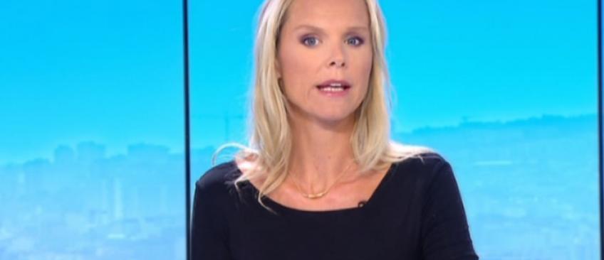 """Voici Vanessa Burggraf qui va remplacer Léa Salamé dans """"On n'est pas couché"""" sur France 2 à la rentrée"""
