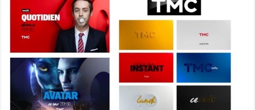 Découvrez le nouveau logo et le nouvel habillage de TMC qui seront à l'antenne à partir du lundi 12 septembre
