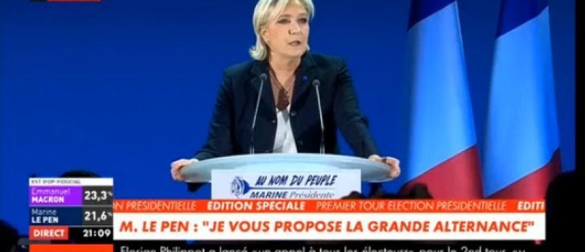 """Présidentielle 2017 - Marine le Pen: """"Il est temps de libérer le peuple Français!"""" - Regardez"""
