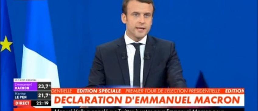"""Présidentielle 2017 - Emmanuel Macron: """"Je veux être le président des patriotes face à la menace des nationalistes"""" - Regardez"""