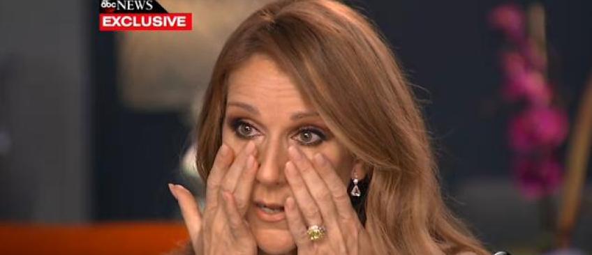 Céline Dion en larmes à la télévision américaine en évoquant le cancer de son mari - Regardez