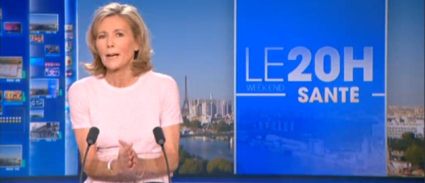 Audiences - Laurent Delahousse toujours plus proche de Claire Chazal au 20h, avec moins de 200.000 d'écart hier soir