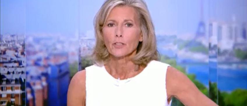 Audiences: Claire Chazal rate son retour au 20h de TF1 - Seulement 200.000 téléspectateurs d'écart avec France 2
