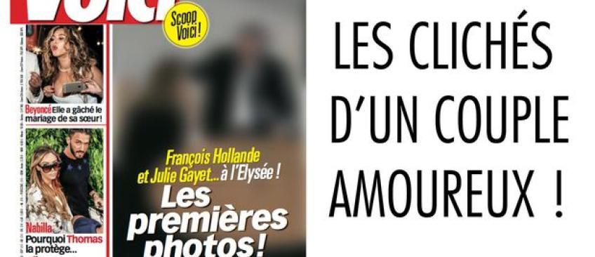 L'Elysée voit l'ombre de Nicolas Sarkozy dans les photos volées de Voici de François Hollande et Julie Gayet