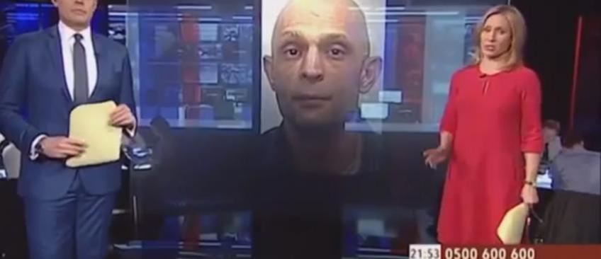 GB: Le présentateur lance un appel pour retrouver un criminel qui lui ressemble étrangement ! Regardez