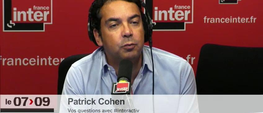 Radio: Patrick Cohen annoncera après la Présidentielle s'il reste sur Inter où va prendre la place de Thomas Sotto sur Europe 1