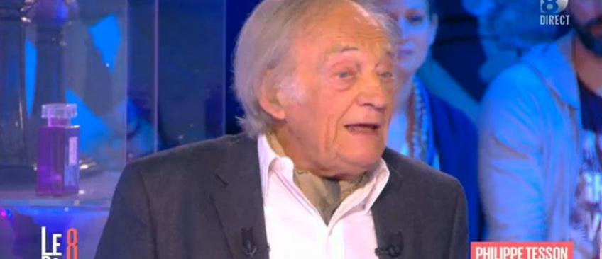 """Accrochage entre Philippe Tesson et Hapsatou Sy ce midi sur D8: """"Je vous emmerde!"""" - Regardez"""