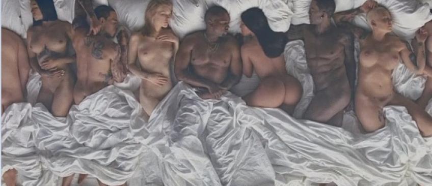 L'incroyable clip de Kanye West avec 12 célébrités nues: Kim Kardashian, Taylor Swift, Chris Brown, Rihanna...