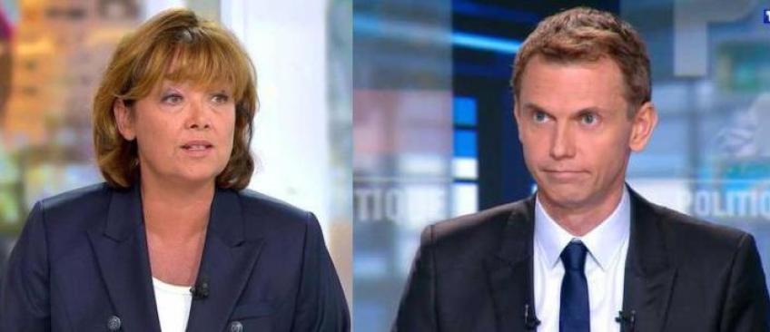 TF1 et France 2 ont décidé de confier la présentation du débat de l'entre-deux tours à Christophe Jakubyszyn et Nathalie Saint-Cricq