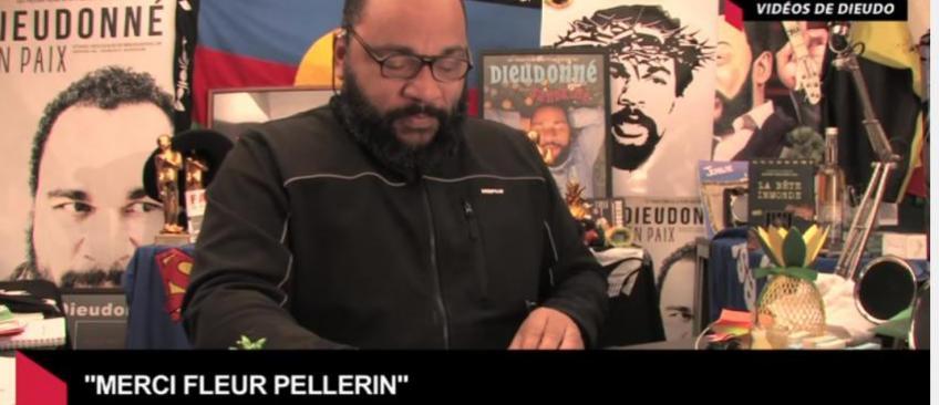 """La Ministre Fleur Pellerin a-t-elle versé une aide de 27.000 euros à Dieudonné pour """"sa tournée en paix"""" ?"""