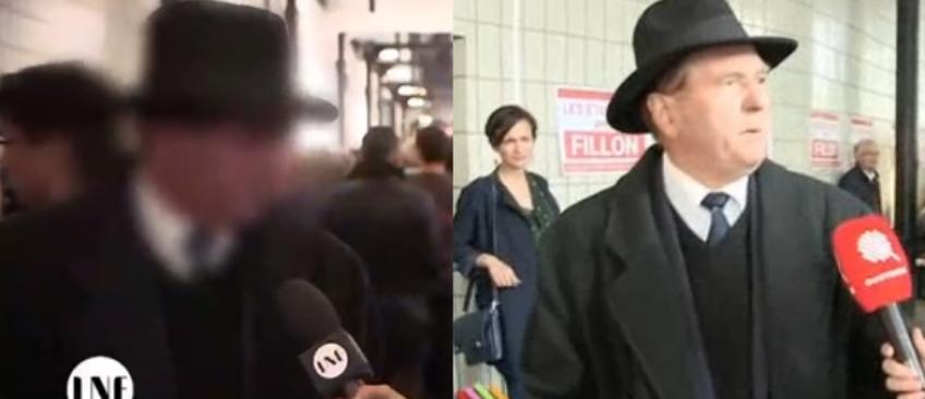 """Yann Barthès dévoile le visage """"flouté"""" du militant de François Fillon qui insultait une journaliste de C8 - Regardez"""