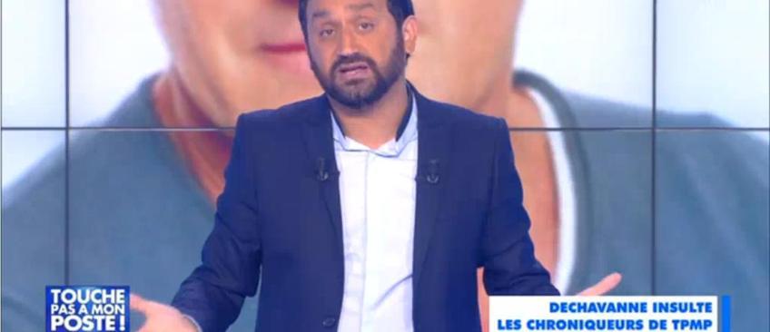 Cyril Hanouna en colère après les critiques de Christophe Dechavanne sur TPMP - Regardez