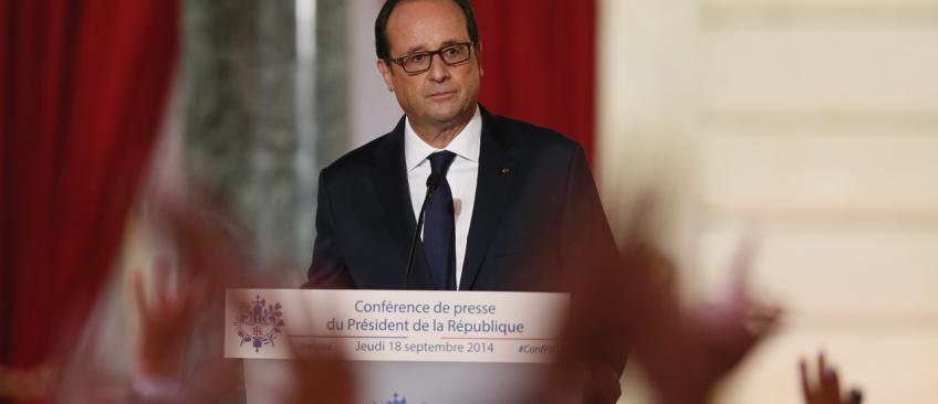 Coup de gueule de l'historien Franck Ferrand contre François Hollande qui méprise la langue française face aux journalistes