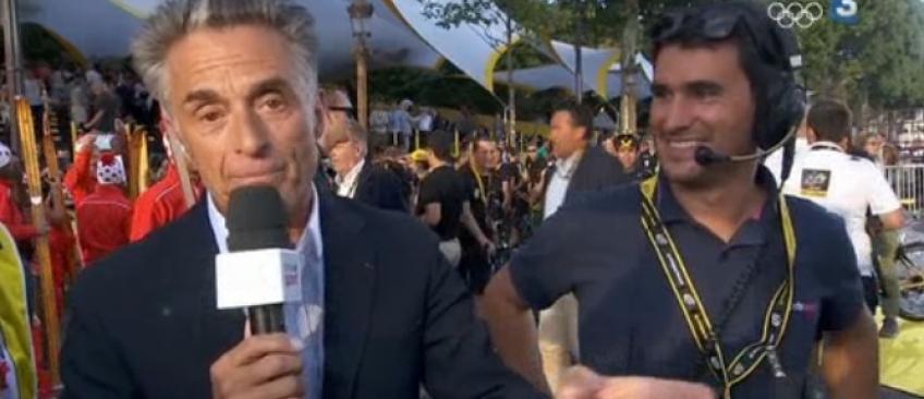 Les larmes aux yeux, Gérard Holtz fait ses adieux aux téléspectateurs de France Télévisions - Regardez