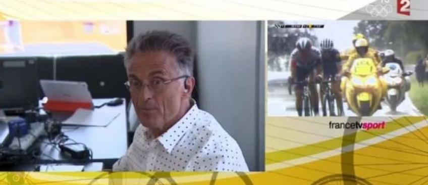 L'hommage de France 2 à Gérard Holtz pendant le Tour de France provoque la colère des internautes