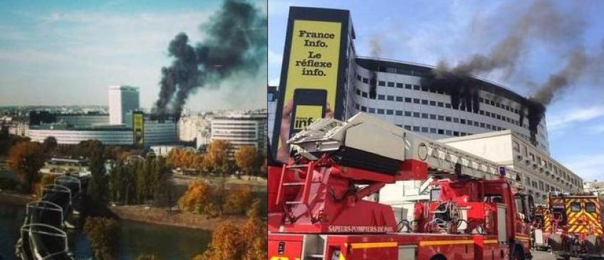 EN DIRECT - Maison de la Radio: Le violent incendie est éteint, les radios ont repris