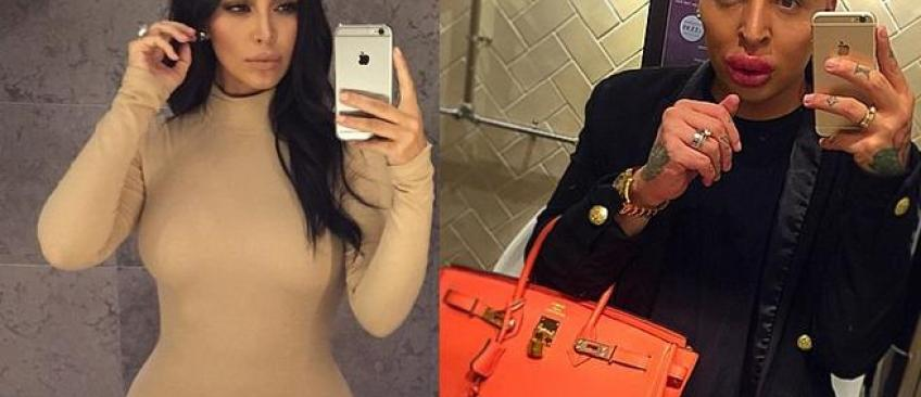 Un fan de Kim Kardashian dépense 190.000 euros pour lui ressembler! - Regardez