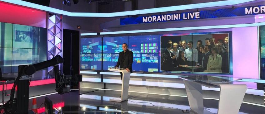 """L'émission média """"Morandini Live"""" est suspendue """"pour des raisons opérationnelles"""" sur iTélé jusqu'à la fin de la grève"""