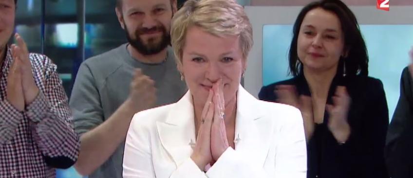 Regardez les adieux d'Elise Lucet au journal de 13h de France 2