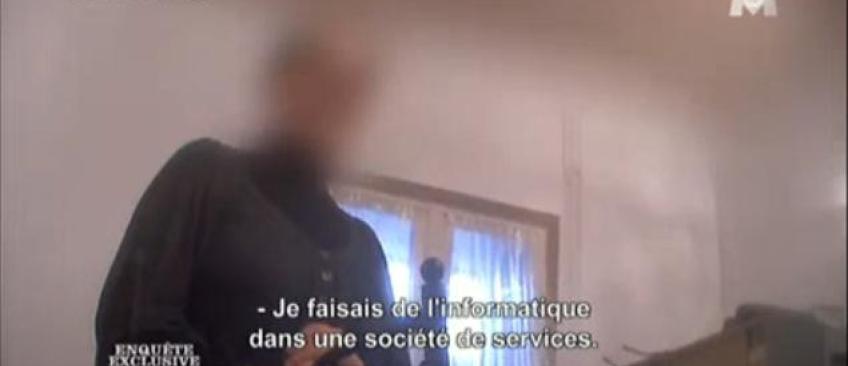 Voici les images d'M6 qui ont permis l'arrestation d'un couple faisant de la propagande jihadiste