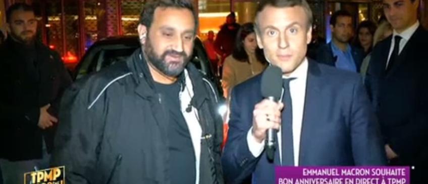 L'incroyable séquence, hier soir, en direct dans TPMP où Emmanuel Macron intervient en direct avec Cyril Hanouna - Vidéo