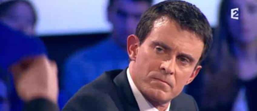"""Manuel Valls vivement critiqué après avoir annoncé qu'il voterait pour Emmanuel Macron: """"Traître"""", """"honte, """"minable"""""""