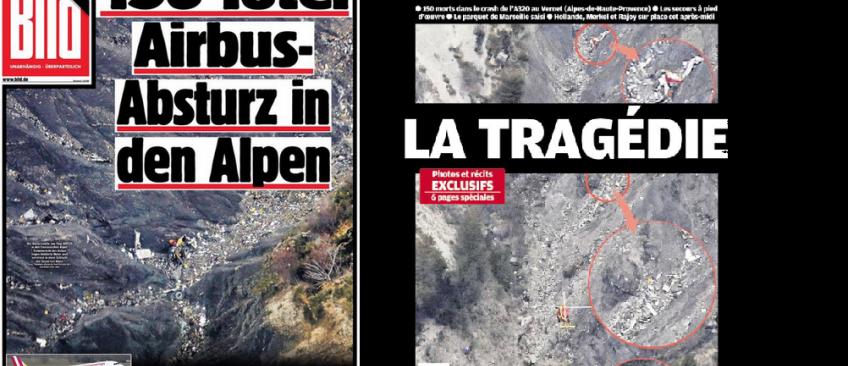 Crash A320 - La presse est en deuil ce matin mais se pose beaucoup de questions sur le drame