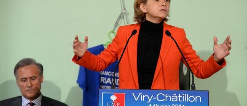 """Valérie Pécresse accuse Manuel Valls et Claude Bartolone d'avoir manipulé l'arrestation de son fils pour """"la déstabiliser"""""""