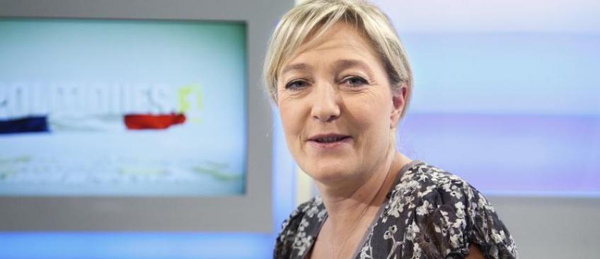 """Marine Le Pen s'en prend à Canal +: """"C'est le summum de la chaine bobo !"""""""