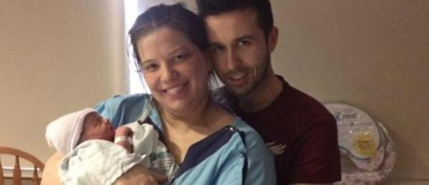 Une femme enceinte de huit mois poste un statut sur Facebook et sauve, sans le savoir, la vie de son bébé