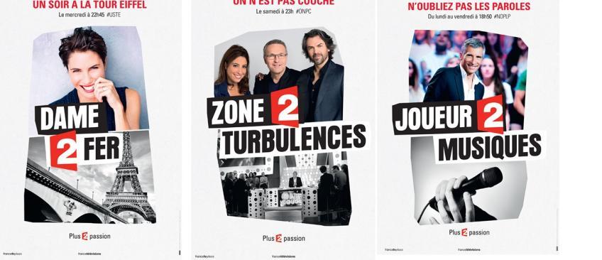 Découvrez la campagne de publicité que lance France 2 dès aujourd'hui !